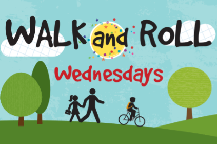 Getting Active with Walk and Roll Wednesdays