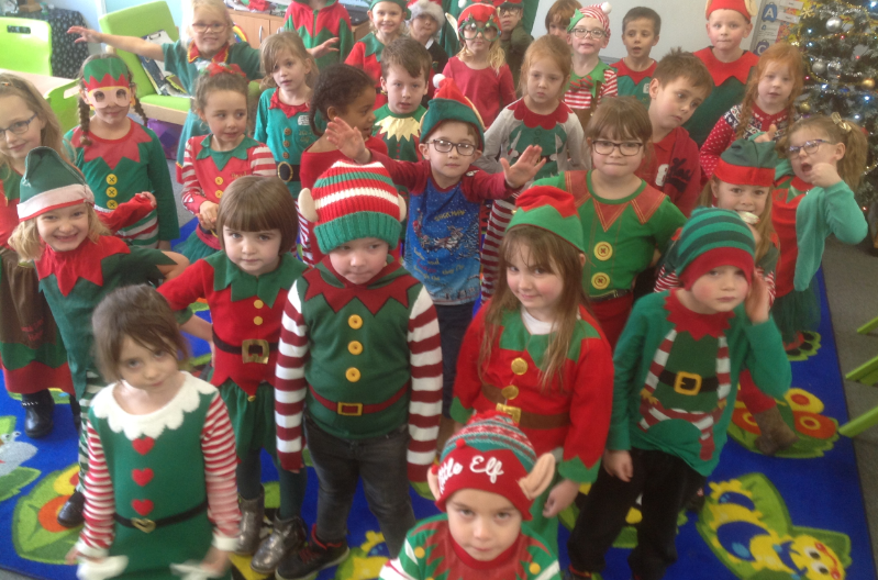 Little elves raise cash for dementia