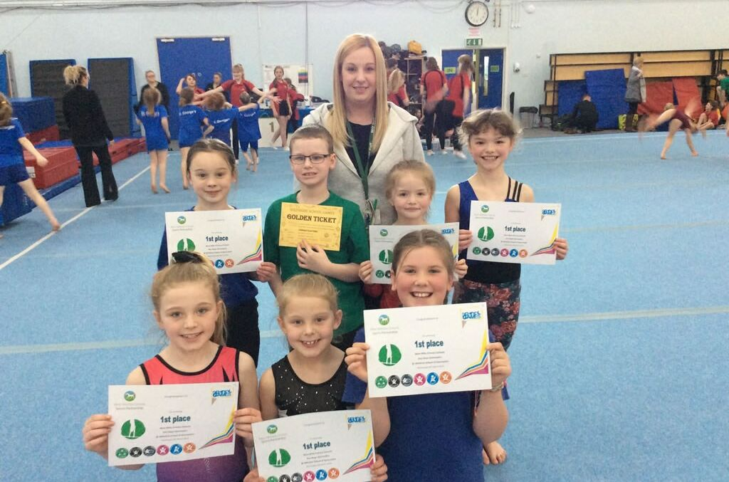 Schools Gymnastics Competition Winners